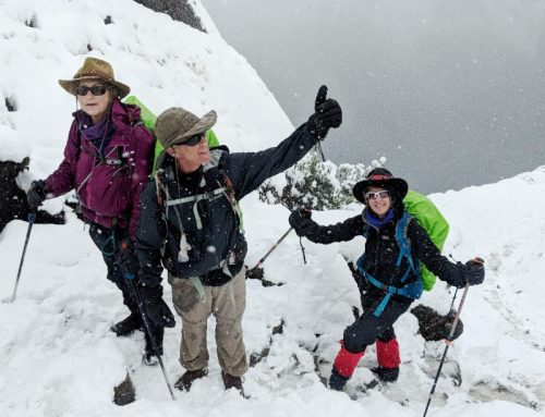 While You Were Sweltering in Summer Heat, HWF Expedition Team Touched Hearts in the Andes